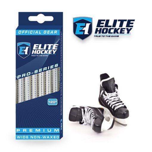 Elite Hockey Pro-Series Premium LacesWhite