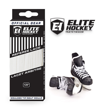 Elite Hockey Referee Laces