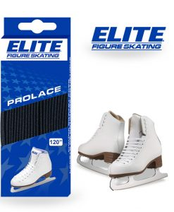 Elite Hockey Figure Skate Laces Black