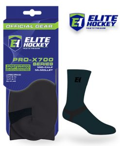 Elite Hockey Bamboo Mid-Calf Carbon Sock