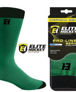 Elite Hockey Pro-Liner Socks Senior - Dark Green