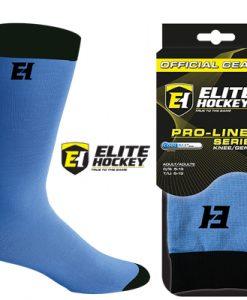 Elite Hockey Pro-Liner Socks Senior - Light Blue