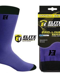 Elite Hockey Pro-Liner Socks Senior - Purple