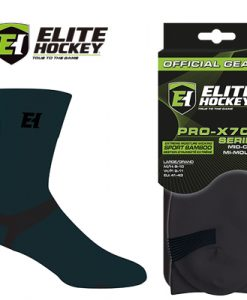 Elite Hockey Pro-X700 Socks Ultra Sport Bamboo - Mid-Calf - Carbon