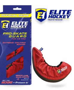 Elite Hockey Pro-Skate Guard Red
