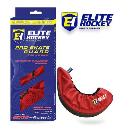 Elite Hockey Pro-Skate Guard Red