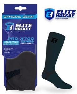 Chaussettes Pro-X700/Genou Carbone de Elite Hockey