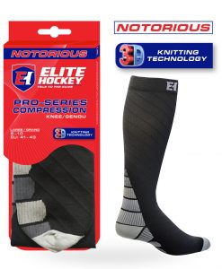 Notorious Hockey Socks Compression Knee