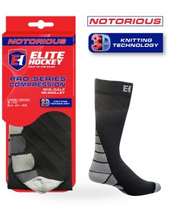 Notorious Hockey Socks Compression Mid-Calf