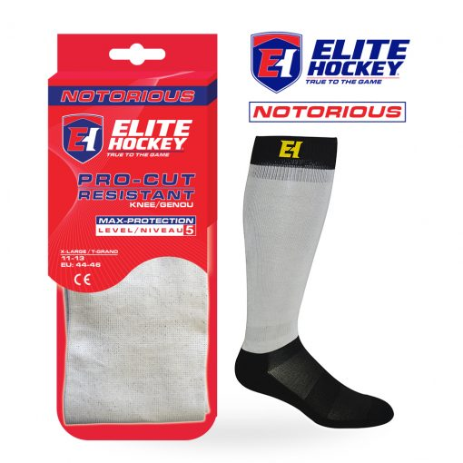 Notorious Pro-Cut Resistant Socks Level 5 - Elite Hockey