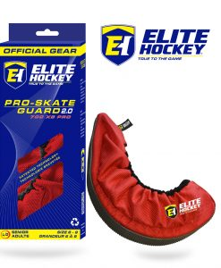 Elite Hockey Pro-Skate Guard V2 - Red
