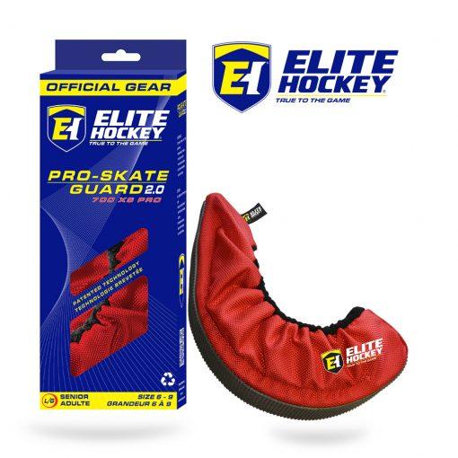 Elite Hockey Pro-Skate Guard V2 - Red