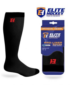 Elite Hockey Pro-Liner Series Junior Knee Black