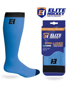 Elite Hockey Pro-Liner Series Junior Knee Light-Blue