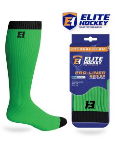 Elite Hockey Pro-Liner Series Junior Knee Lime Green