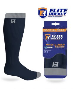 Elite Hockey Pro-Liner Series Junior Knee Navy