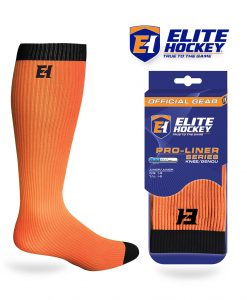 Elite Hockey Pro-Liner Series Junior Knee Orange