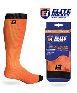 Elite Hockey Pro-Liner Series Jeune Genou Orange