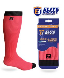 Elite Hockey Pro-Liner Series Junior Knee Pink