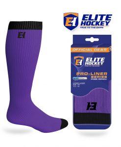 Elite Hockey Pro-Liner Series Genou Violet