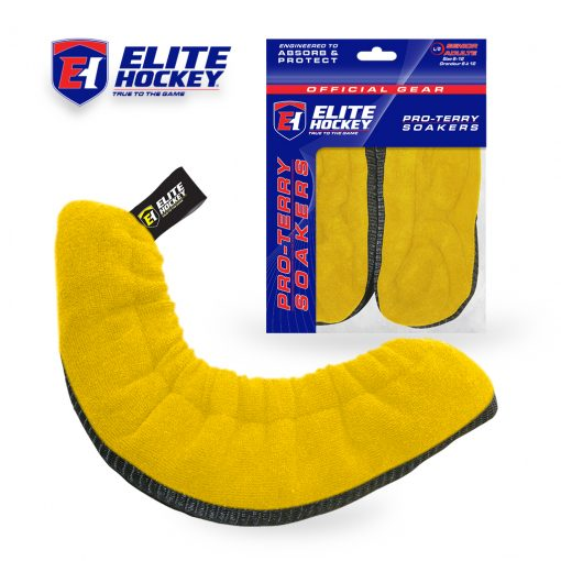 Elite Hockey Pro-Terry Soaker Yellow
