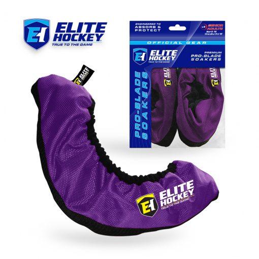 Elite Hockey Pro-Blade Soakers Purple