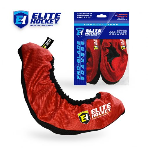 Elite Hockey Pro-Blade Soakers Red