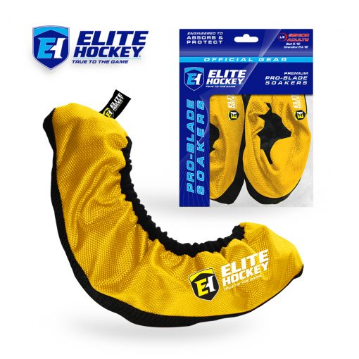 Elite Hockey Pro-Blade Soakers Yellow